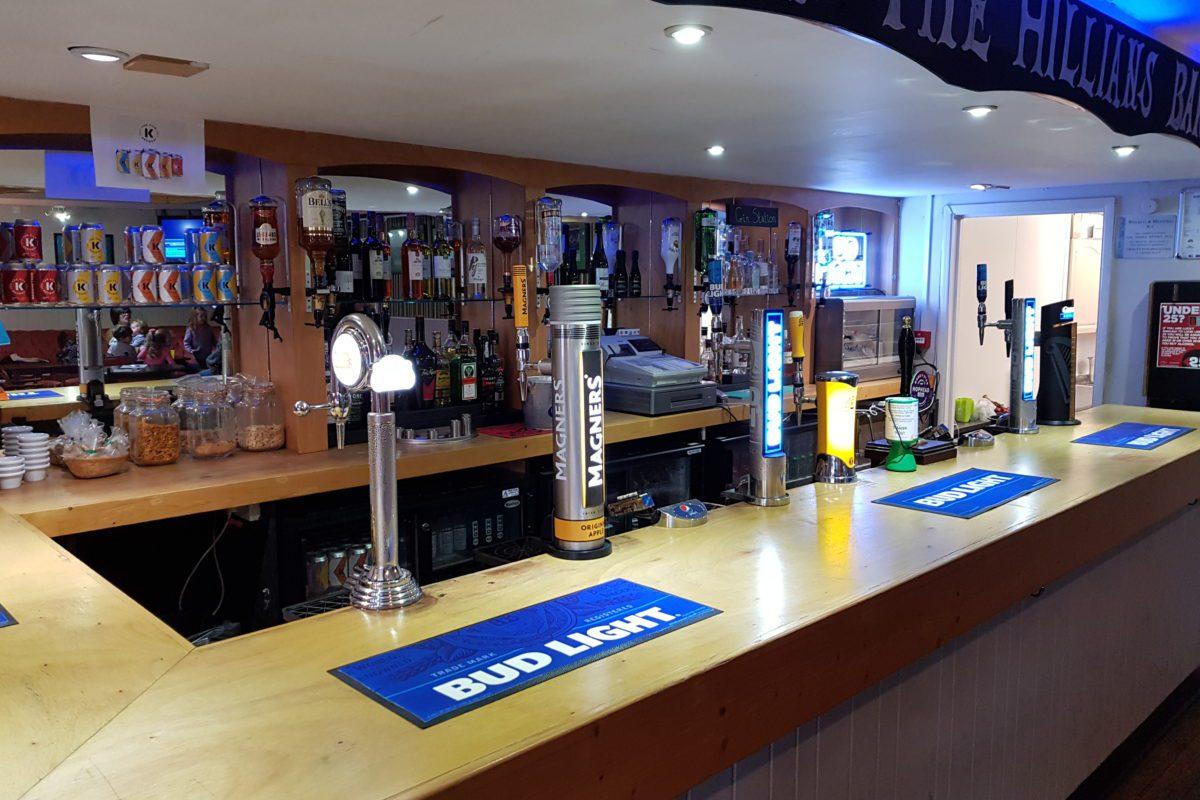 Watch England vs Scotland At The Hillians Bar