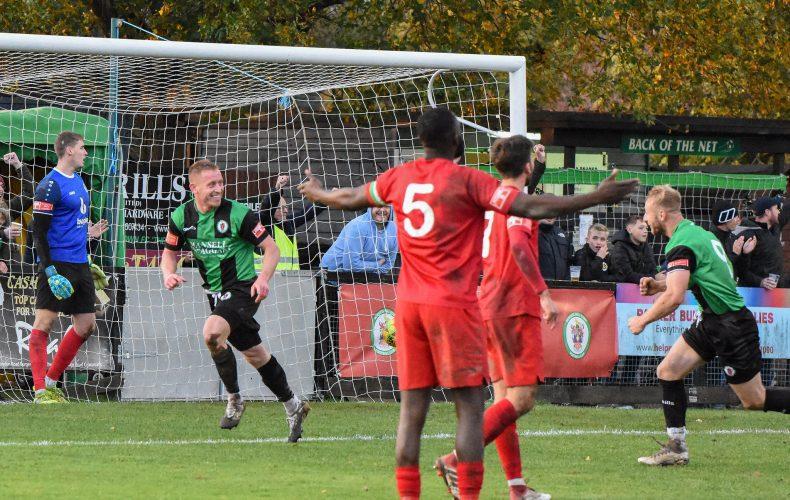 Highlights: BHTFC 4 Harrow Borough 1
