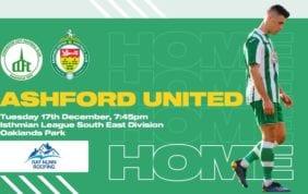 Ashford United: Match Postponed