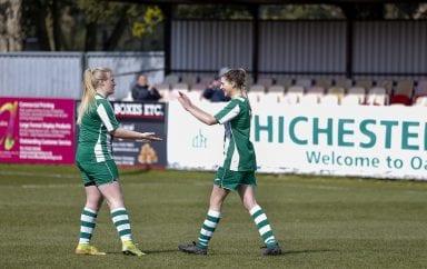 Stunning 8-2 win for Chichester City Women!