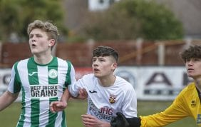 Gallery: City U18's lose at Pagham