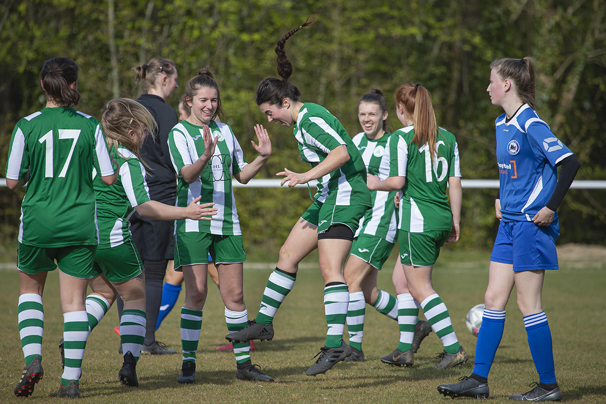 Action & Reaction: 4 points from 6 for Chichester City Women