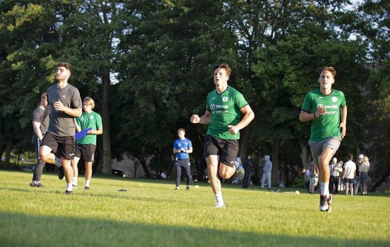 City Men back in Pre-season training