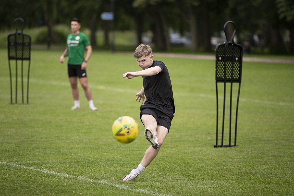 Dan Potter: City men training for new season