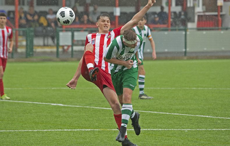 Gallery: Action from Under 18's friendly at Steyning