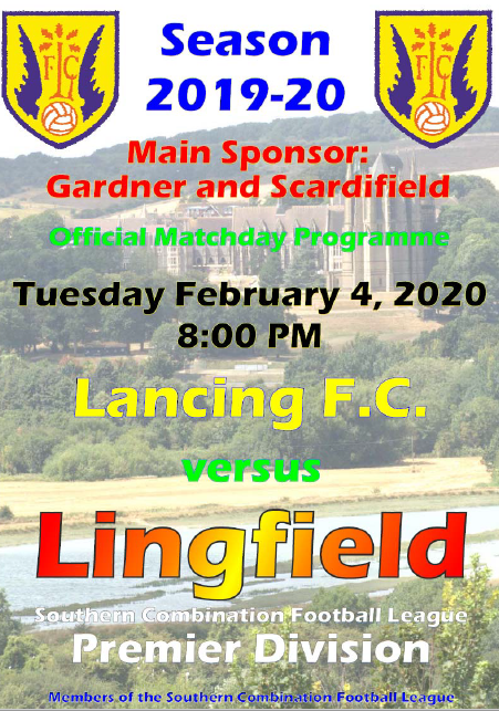 Lancing vs Lingfield (4/2/20)