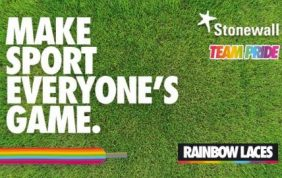 Lancing FC Support Rainbow Laces