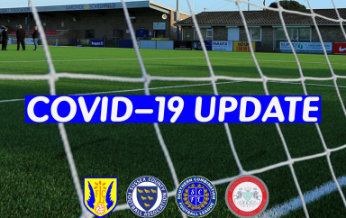 COVID-19 UPDATE – SUSPENSION OF FOOTBALL