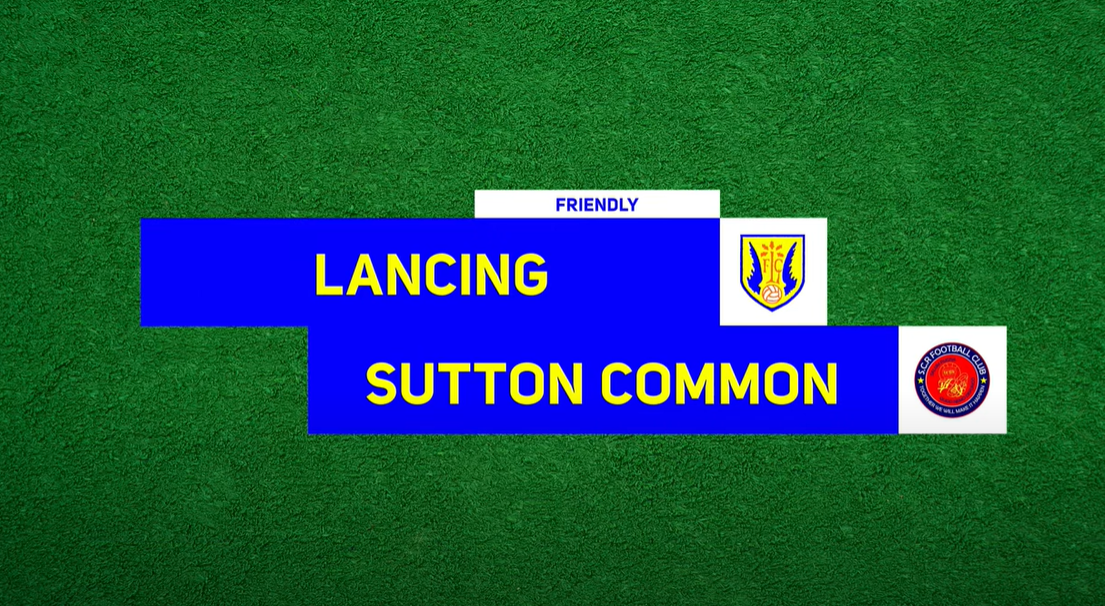 Highlights: Lancing 1-1 Sutton Common Rovers