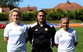 Young Worthing stars aiming high for the season ahead – and the future