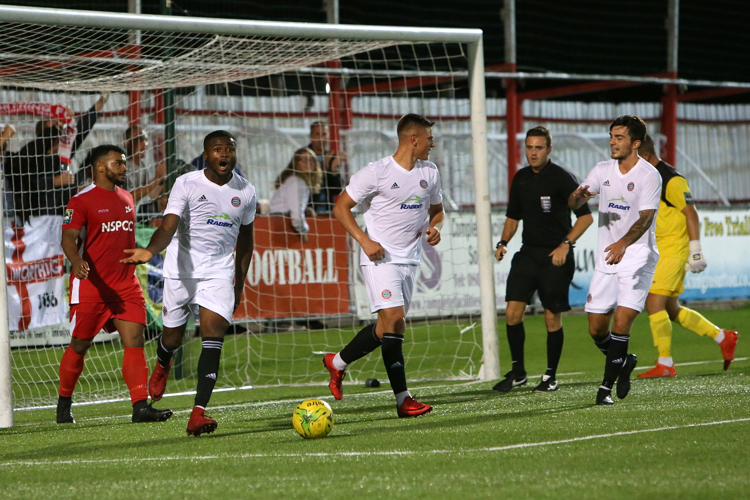Read the full article - Confidence flowing as Worthing make perfect start