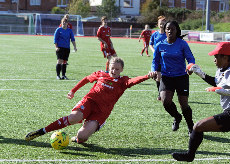 HIGHLIGHTS: Worthing Ladies 1-5 Islington Borough [H] – FA Cup