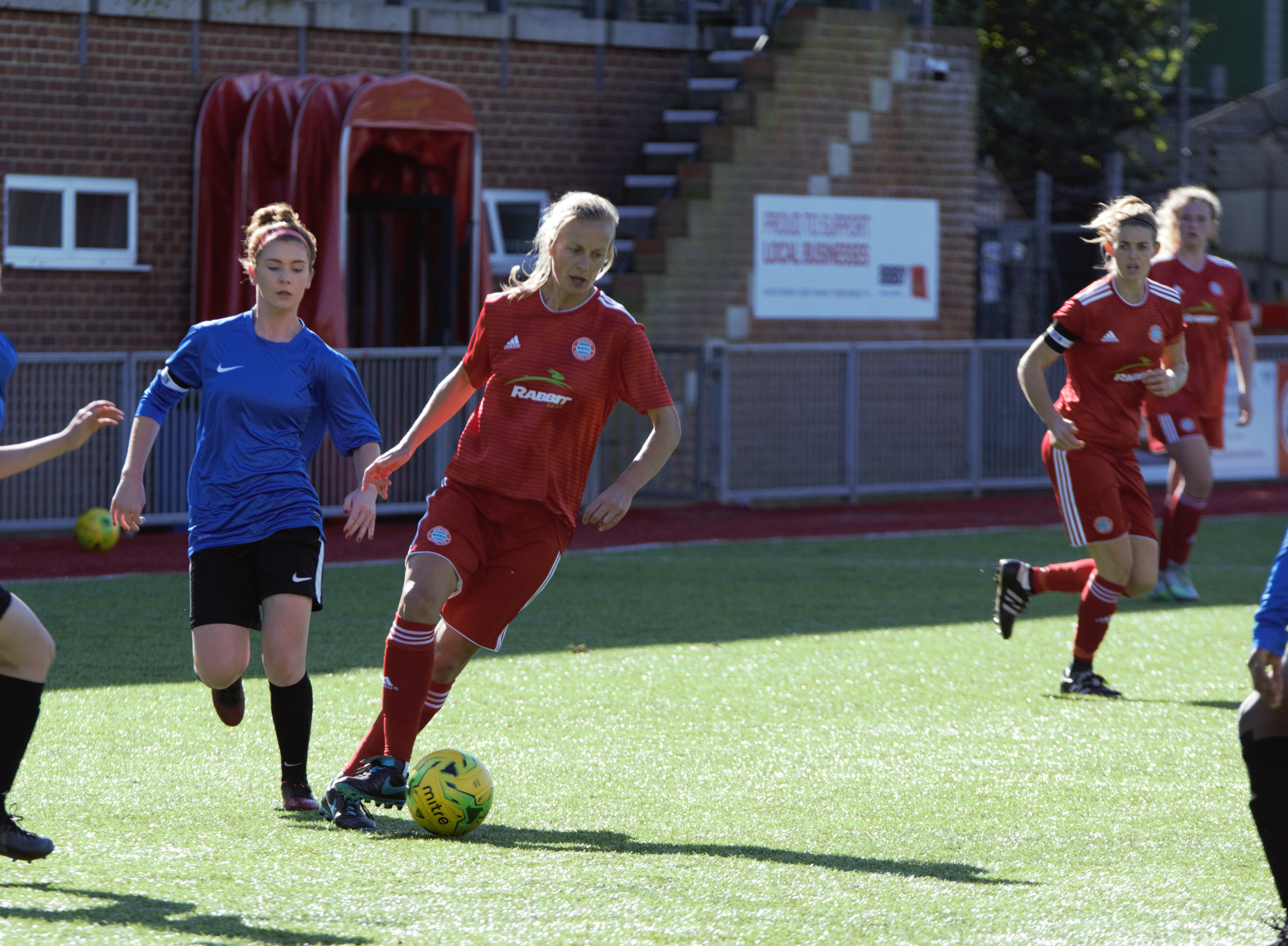 Read the full article - Gallery: Ladies v Islington Borough [H] – FA Cup
