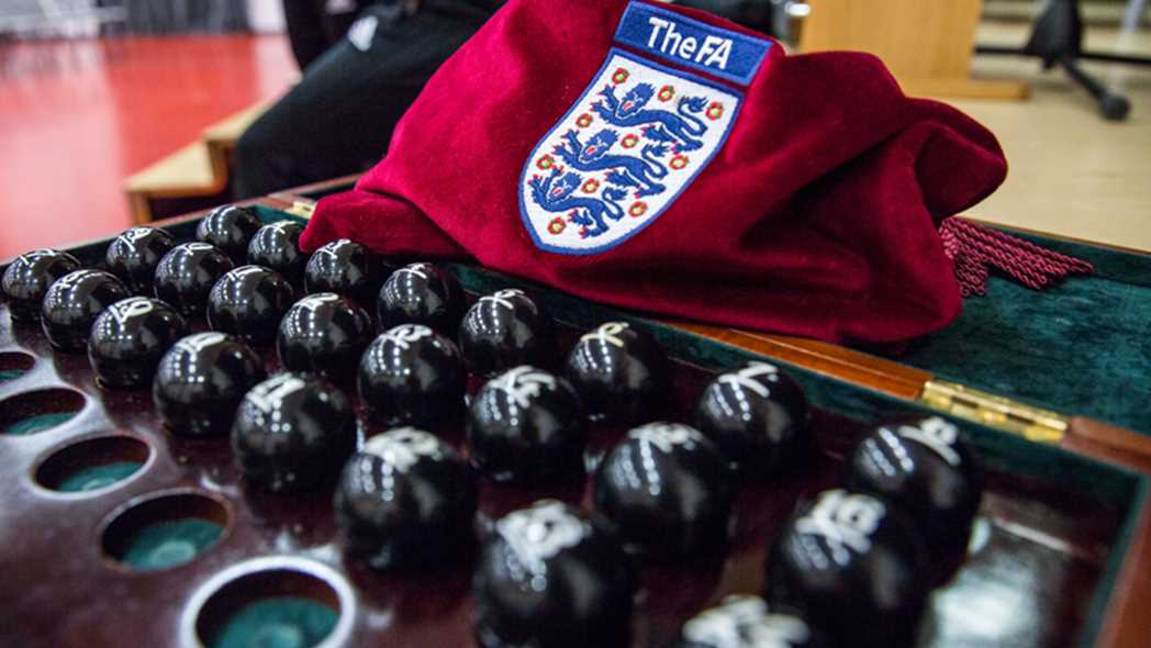 Read the full article - Emirates FA Cup Third Round Qualifying Draw Made At Wembley Stadium