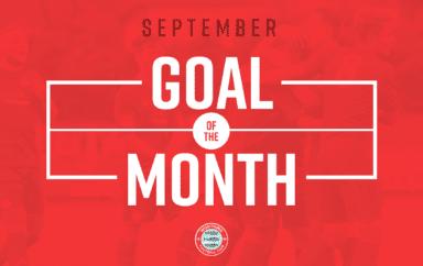 Goal Of The Month – September