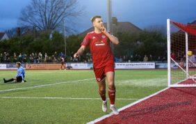 Reds Show Festive Spirit With Strange Winner