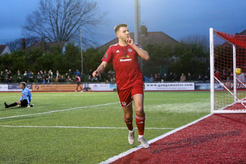 Read the full article - Reds Show Festive Spirit With Strange Winner