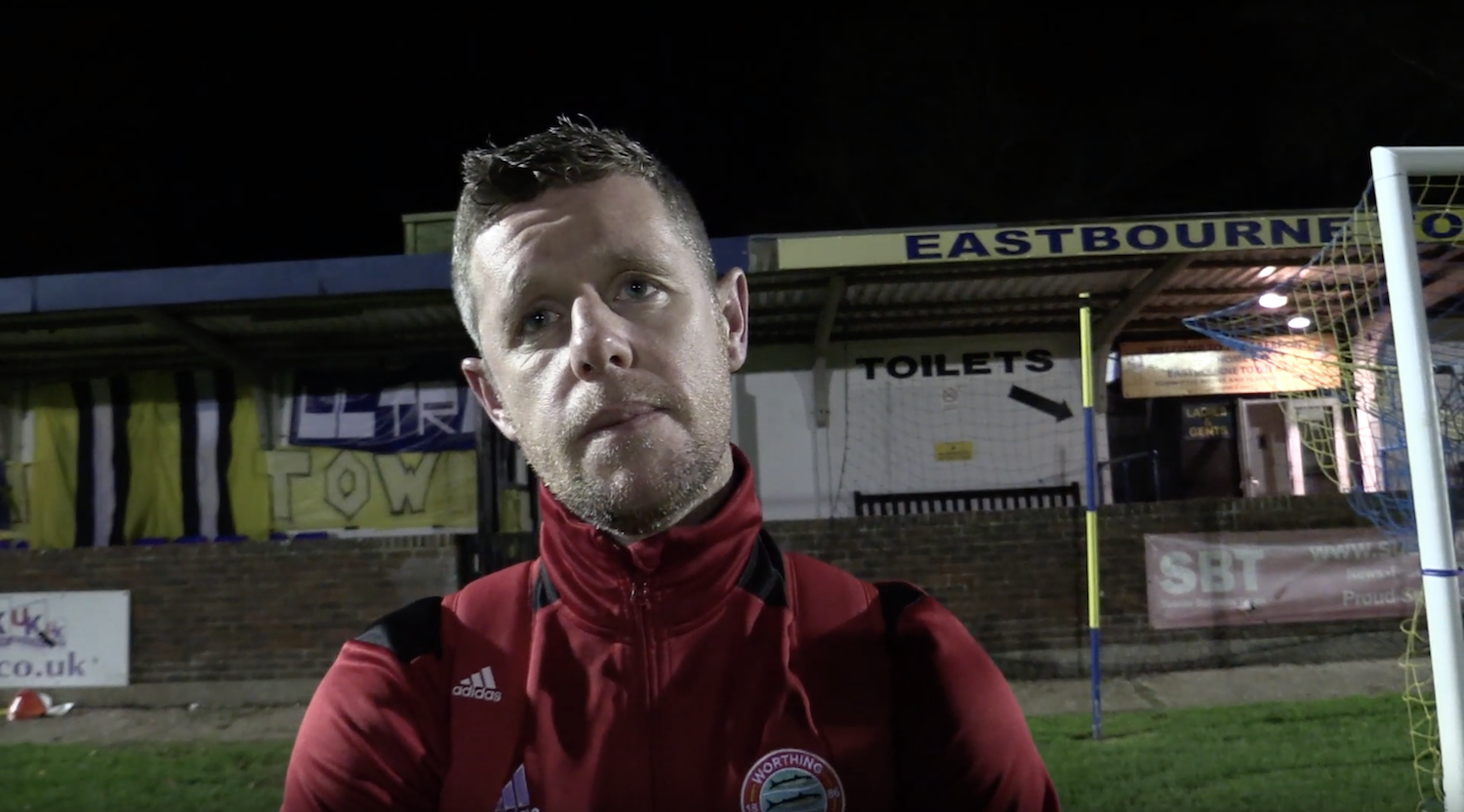 Read the full article - Post Match Interview: Eastbourne Town [A] – Cup