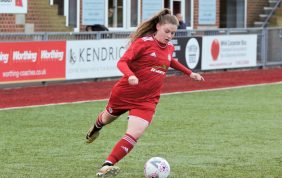 HIGHLIGHTS: Ladies 5-0 Bexhill [H] – LEAGUE