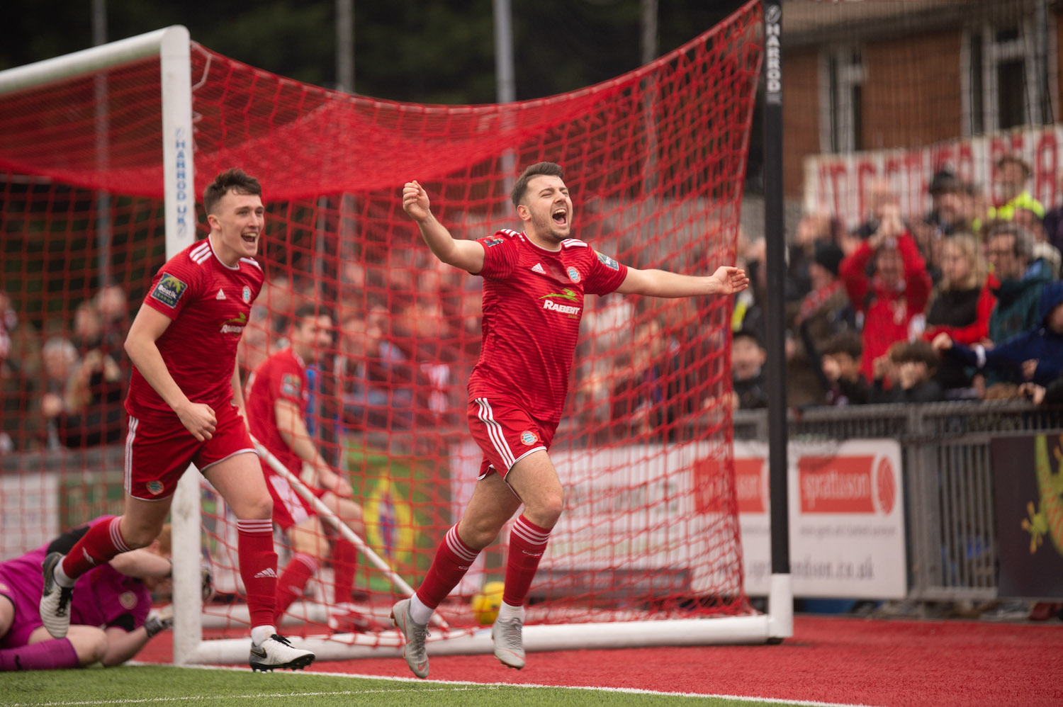 Read the full article - Pearce To The Four As Reds Hammer Hawks