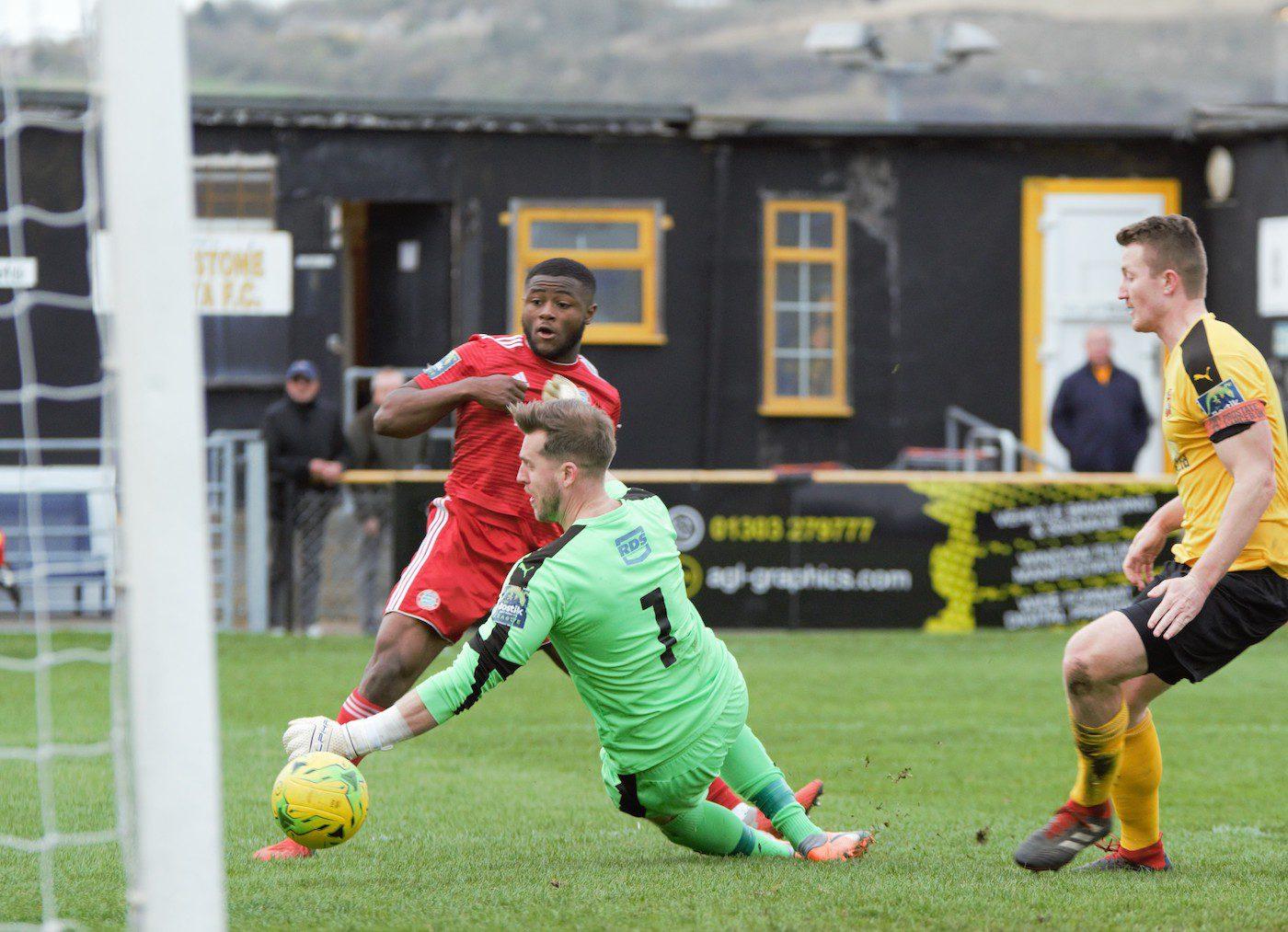Read the full article - Reds Stun Folkestone Invicta-ry