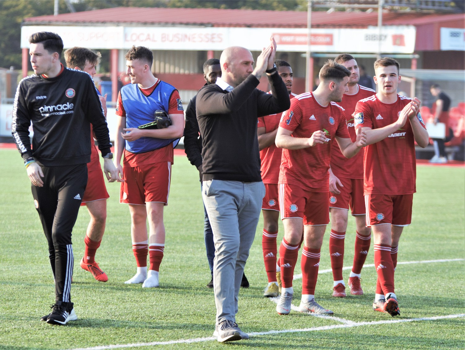 Read the full article - Worthing have 'plenty to be pleased and proud about' even if they fail in play-off push