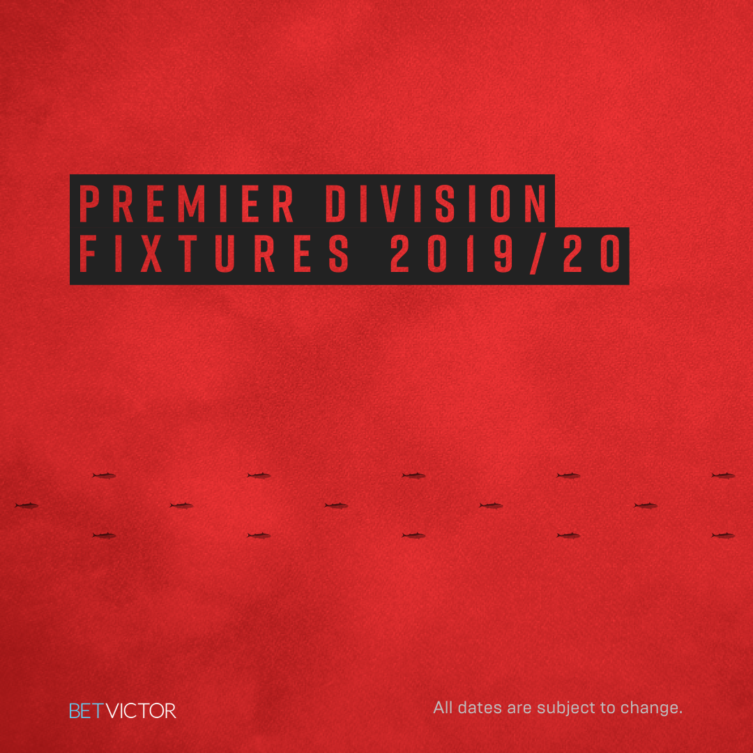 Read the full article - Premier Division Fixtures 2019/20