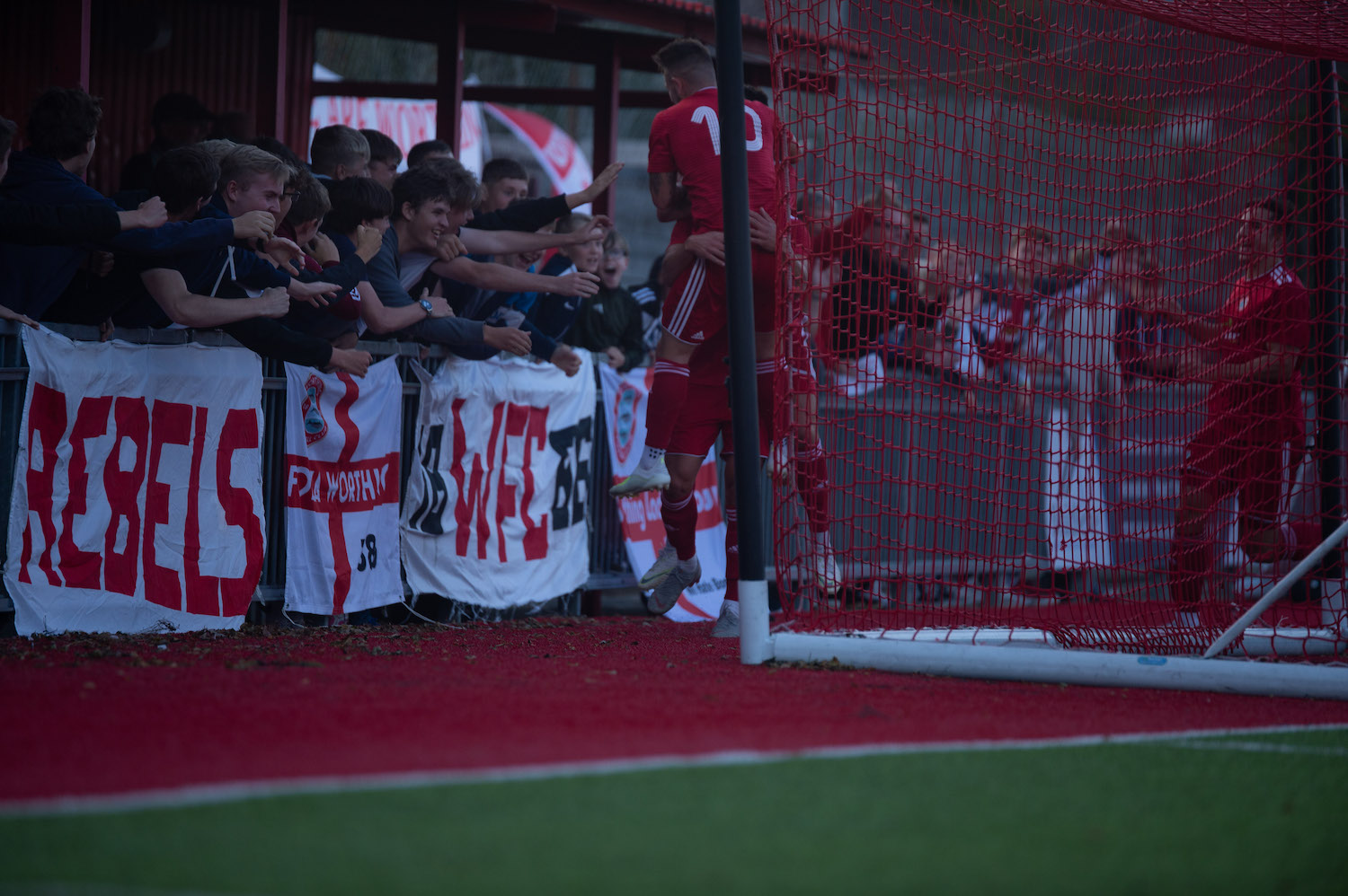 Read the full article - Marvellous Marvin sends Reds to St Albans
