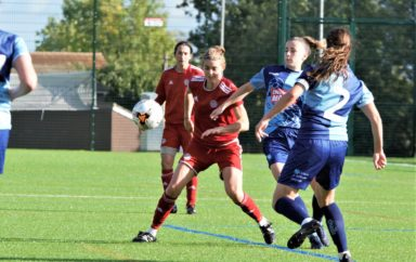 Lawrence cuts a frustrated figure as Worthing Women bow out the Cup
