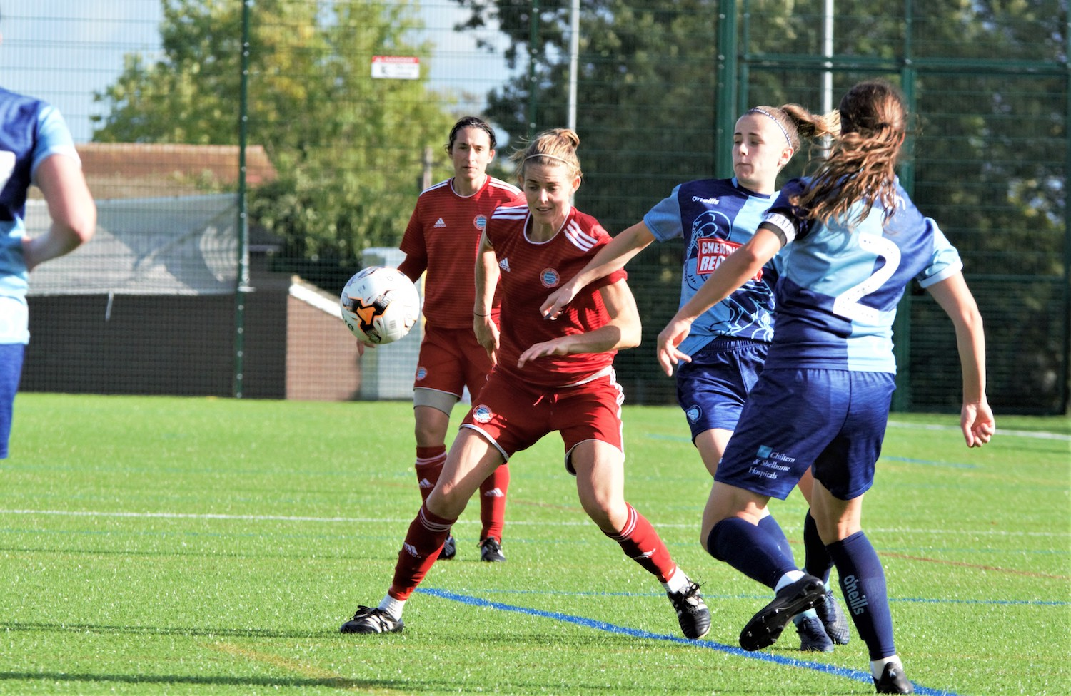 Read the full article - Lawrence cuts a frustrated figure as Worthing Women bow out the Cup
