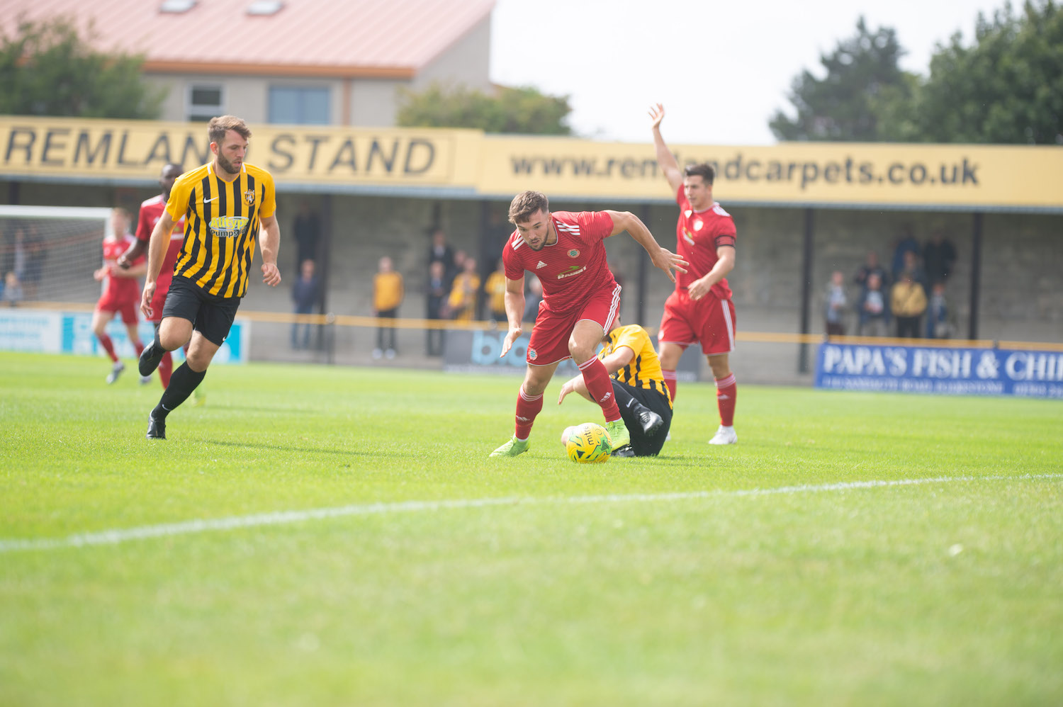Read the full article - Reds keen to bounce back against Ambers