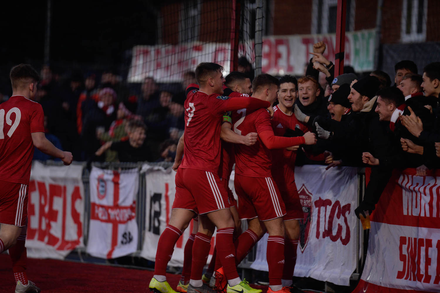 Read the full article - Reds Take The Sting Out Of Hornets