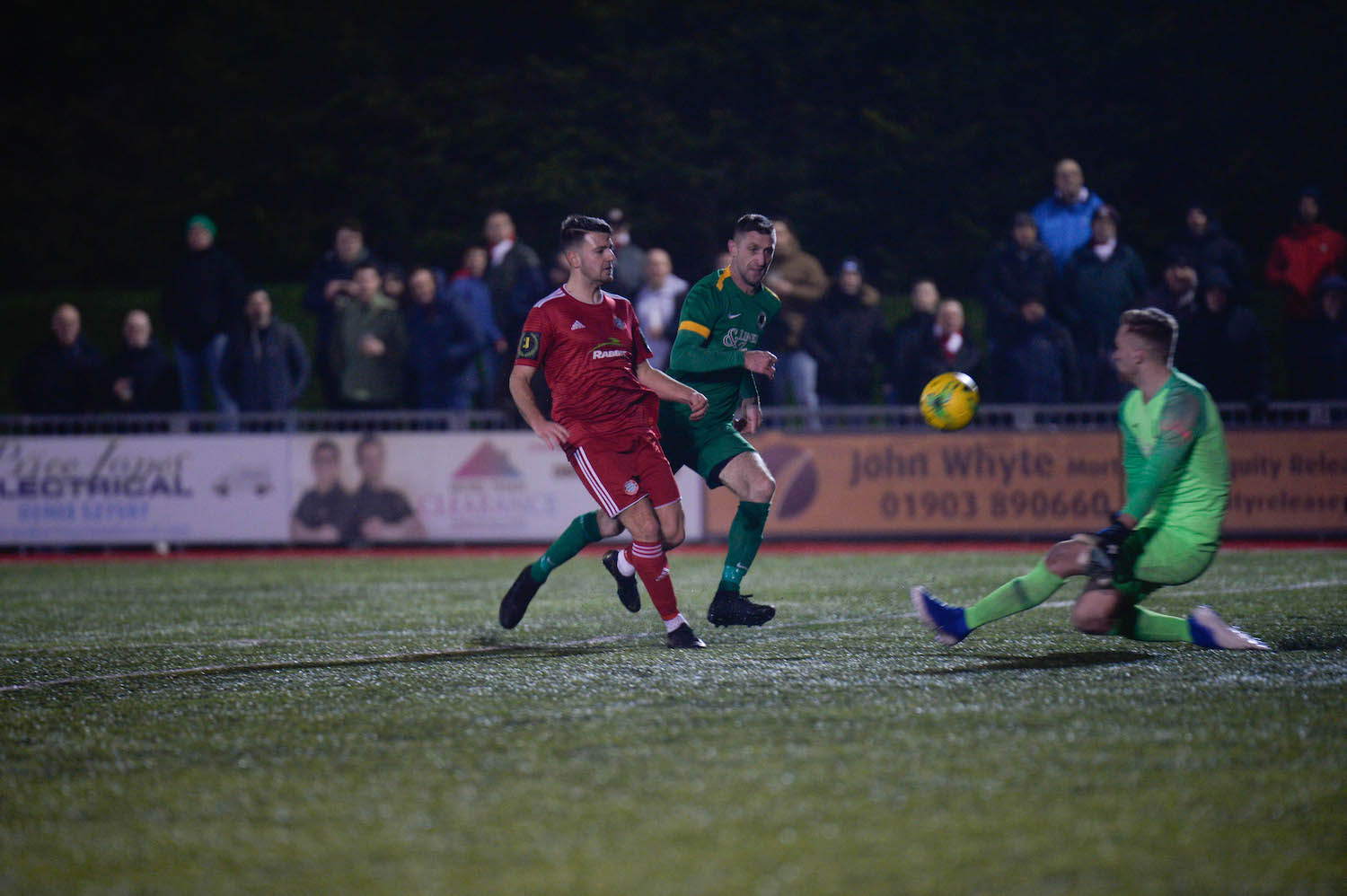 Read the full article - Red meets Yellow in County Cup Clash