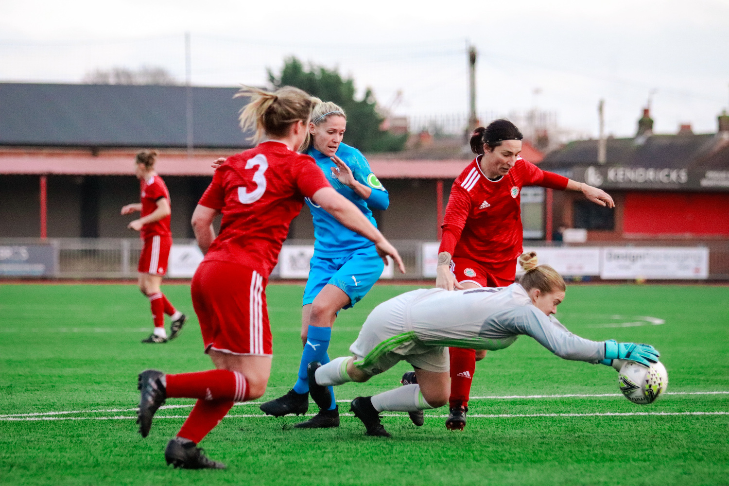 Read the full article - Worthing bow out the cup to higher league Billericay
