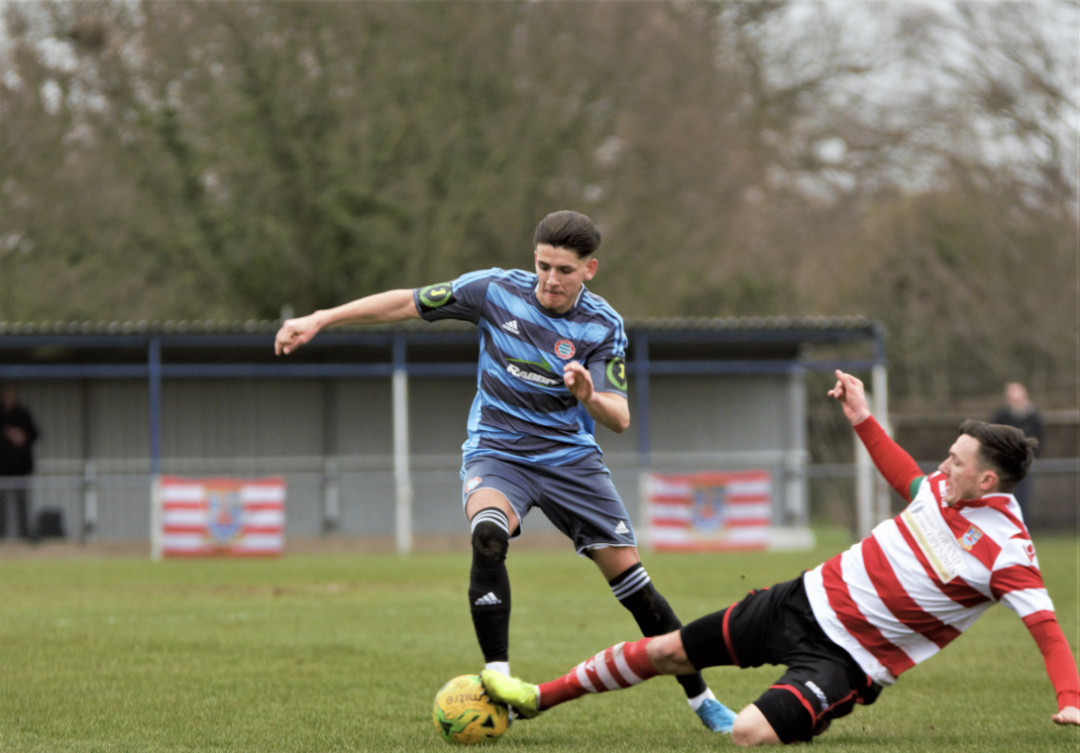 Read the full article - Worthing held by 10-man K's
