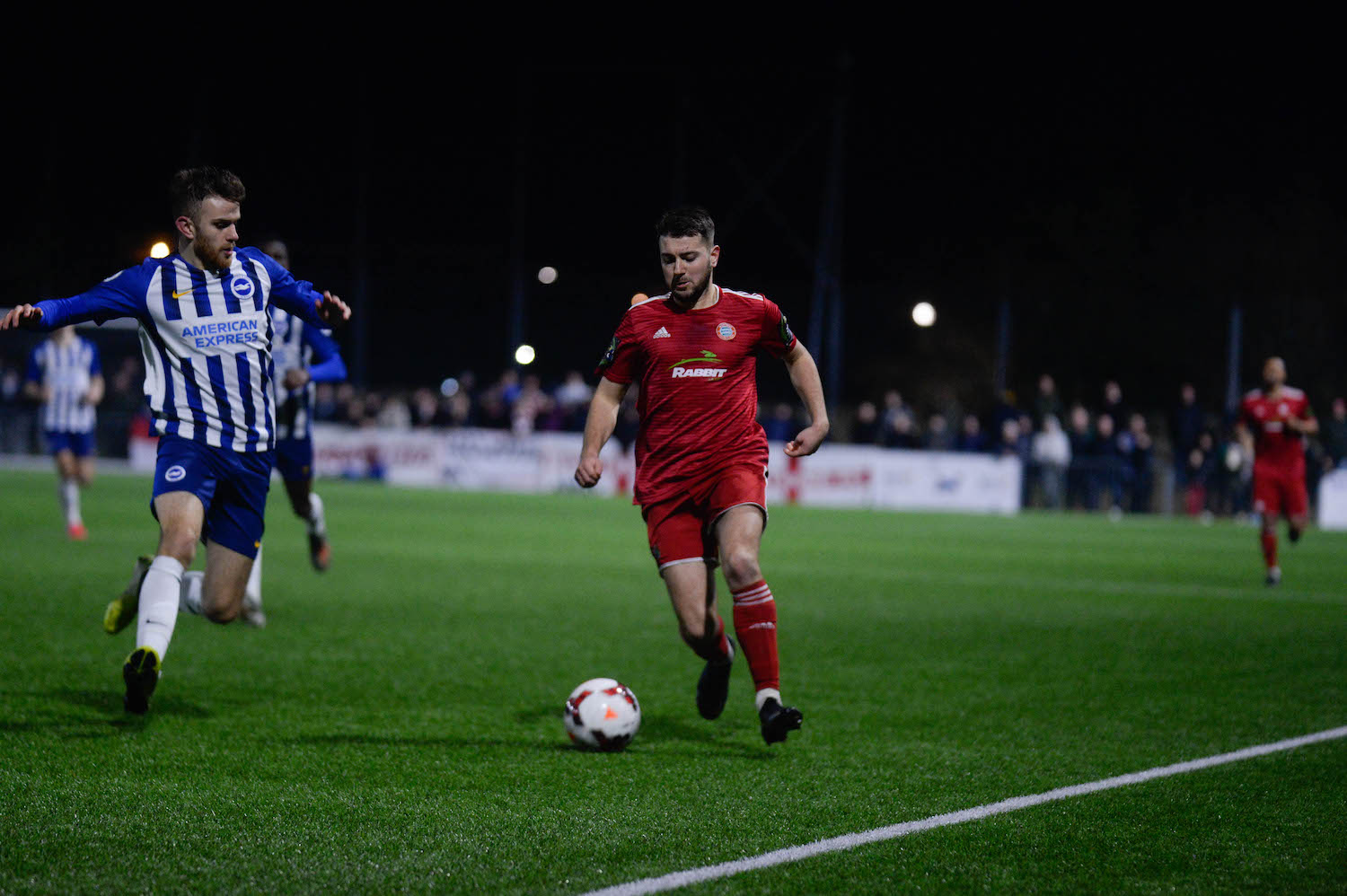 Read the full article - Tanners edge Reds in seven goal thriller