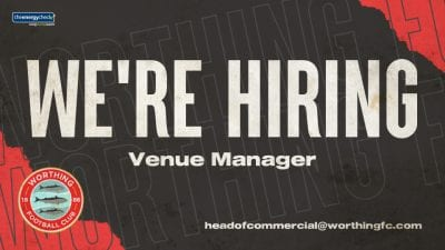 Read the full article - Vacancy: Venue Manager