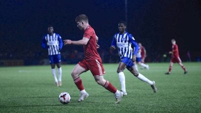 Read the full article - Reds Upbeat Despite Defeat