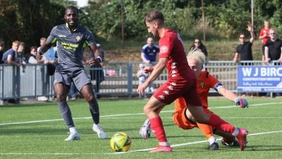 Read the full article - On the Whistle Report: Worthing vs East Thurrock United